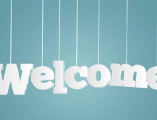 Bienvenue à nos nouveaux membres