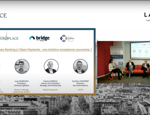 Replay WebConférence « Open Banking : perspectives & opportunités »
